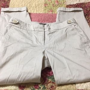 Talbots brand sz 6 cream pants casual career
